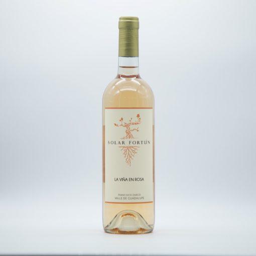 solar fortun, viña, rosa, valle, guadalupe, mourvèdre, vino rosado mexicano, rose, pink