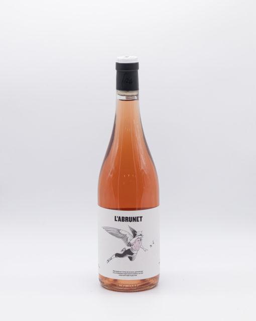vino rosado español natural, celler, frisach, L'abrunet, frisach, terra, alta, cataluña, garnacha, blanca, garnacha gris, garnacha, nera,